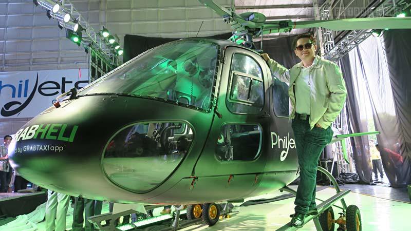 Chucki Dreyfus - Grab Helicopter Ambassador