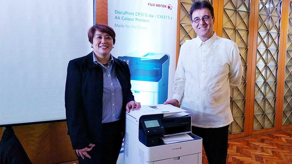 Fuji Xerox Launches DocuPrint CP315dw & CM315z
