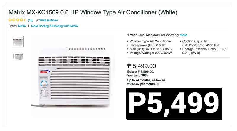 Cheapest Aircon Lazada Most Affordable Ac For Summer 2017