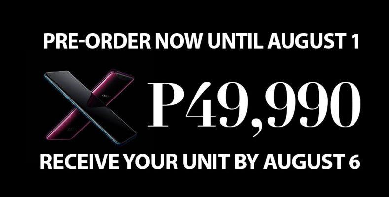 oppo find x price philippines