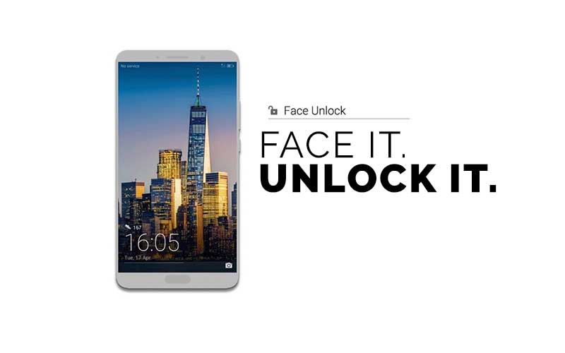 Mate 10 Face Unlock